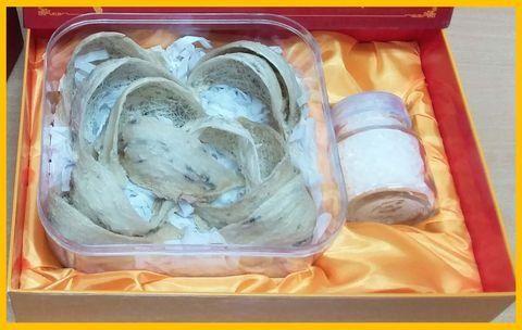 Khanh Hoa Premium Edible Bird's Nest - Swallow Bird Nest - 燕窝 - Yànwō - Yến Sào - Tổ Yến 100g -Best Product of Vietnam