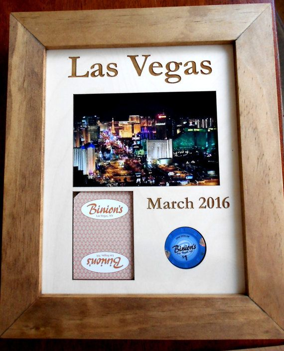 Custom Poker Chip Display Frame Poker Player Gift by CarvedByHeart