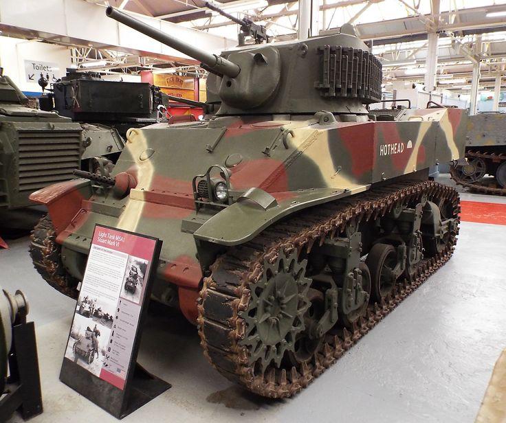 US Light Tank M5A1 Stuart Mark VI 1942-1995 Tank Museum Bovington