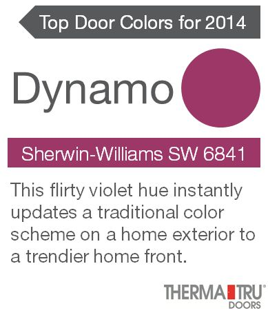 Painting your front door a vibrant color   like Dynamo   adds energy and  curb appeal35 best 2016 Front Door Color Trends images on Pinterest   Front  . Front Door Color Trends 2014. Home Design Ideas