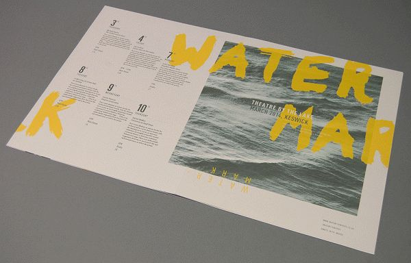 Watermark Publication by James Cope, via Behance