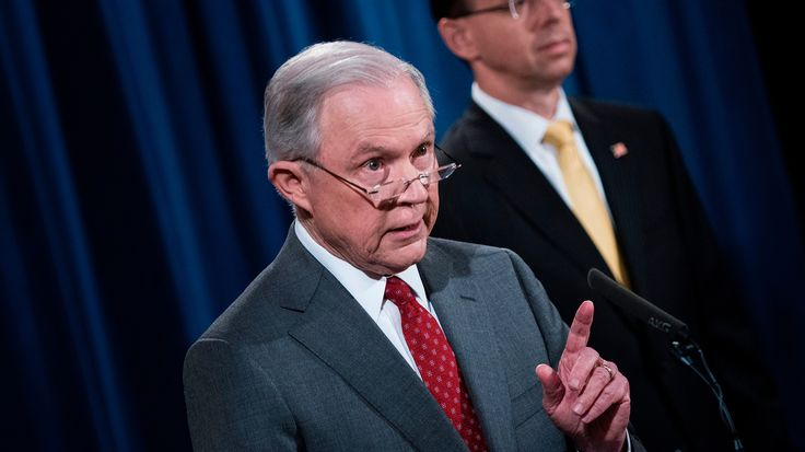Top Justice Department officials raised the prospect they could loosen policies on issuing subpoenas to news organizations to stop the flow of information.