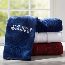 Personalized Bath Towels & Personalized Towel Wraps | PBteen