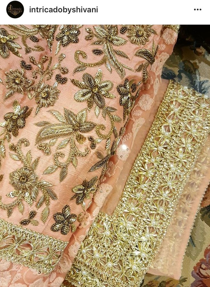 The details created by Intricado by Shivani are stunning!