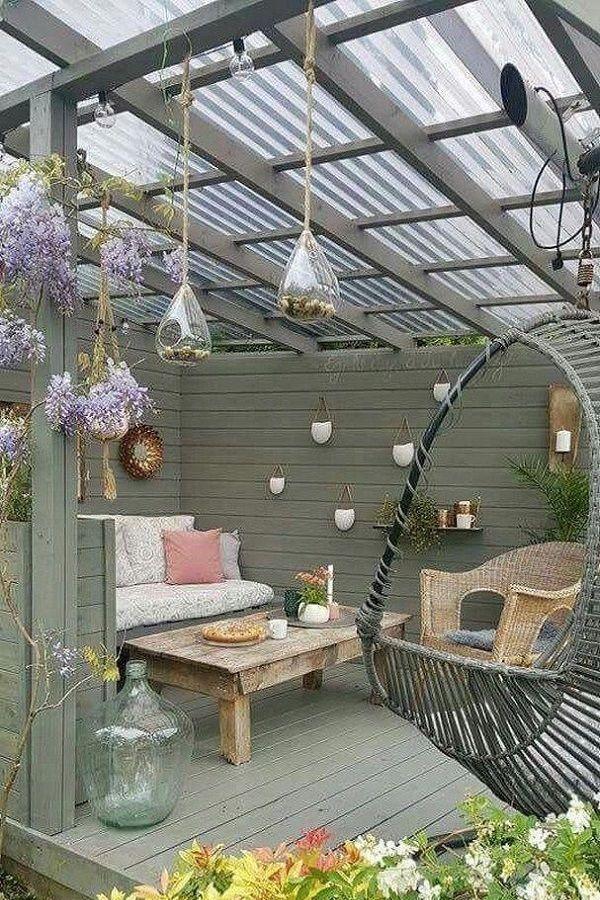 patiodecor #pergolaideas #pergoladesigns #pergola | Backyard