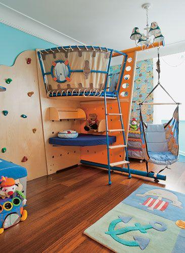 детская комната корабль - Google Search