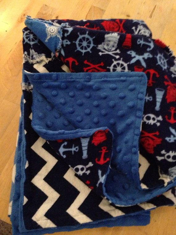 Jake and the neverland pirates blue by for Jake quilted bedding