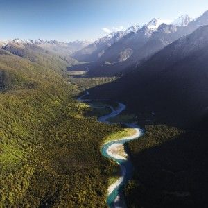 The Hollyford Track can be reached via Queenstown or Te Anau in NZ's South Island and from there its straight into pristine bush.
