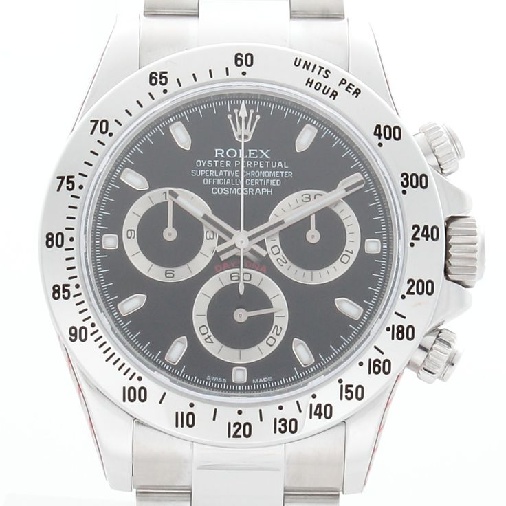 Rolex Daytona 116520 With Box & Papers Serviced By Rolex UK view 8