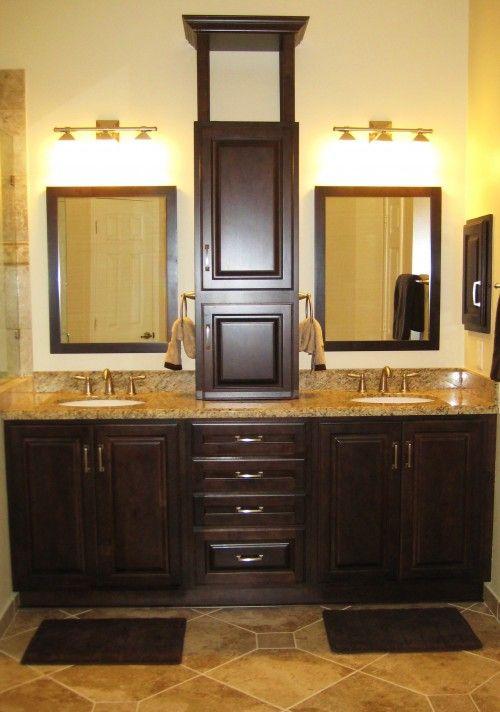 Bathroom update: Bath Idea, Masterbath, Bathroom Vanities, Bathroom Idea, Bathroom Remodel, Traditional Bathroom, House Idea, Bathroom Cabinets, Master Bathroom
