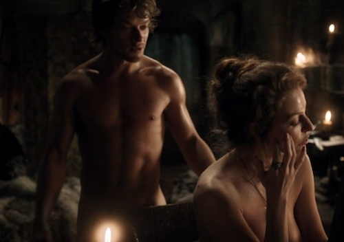 Image result for Ros and Theon sex