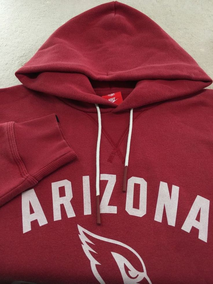 BRAND NEW ARIZONA CARDINALS MENS LARGE NIKE NFL HOODIE $80 #Nike #ArizonaCardinals