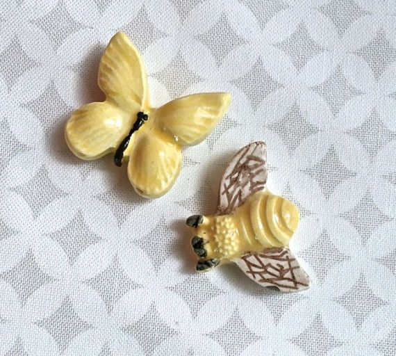 Bee and Butterfly   Ceramic Tiles  Mosaic Supply