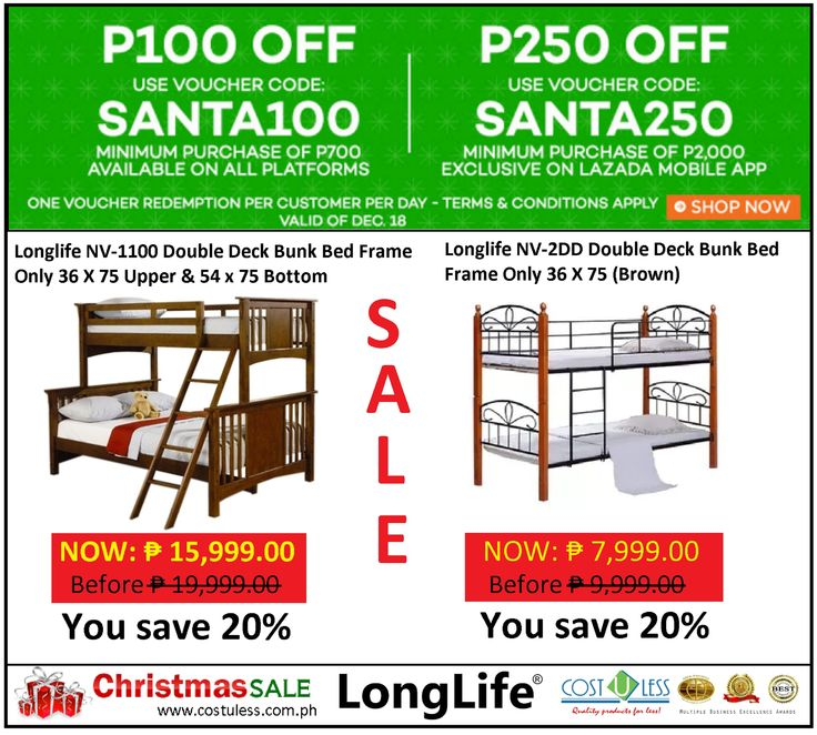 Double Deck Bed For Sale Lazada