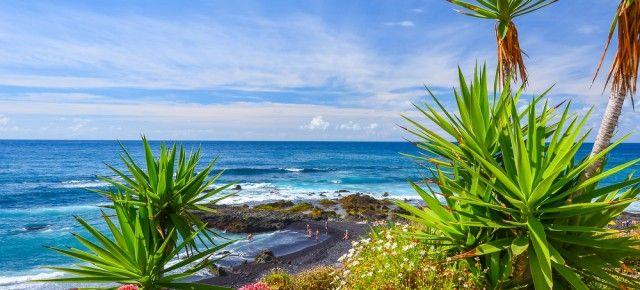Teneriffa Urlaub: 7 Tage im sehr guten 4* Hotel schon für 384€ inkl. Halbpension, Flügen, Transfer & Zug zum Flug