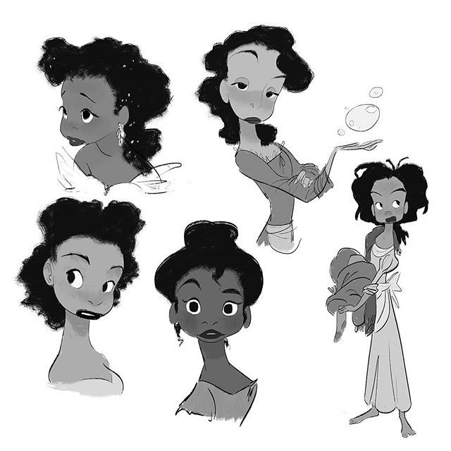 I can't share what I'm working on right now, so here, have these explorations for 'Emberella' #terrypratchett #art #drawing #sketch #digitalart #design #characterdesign #princess #conceptart #illustration #visualdevelopment