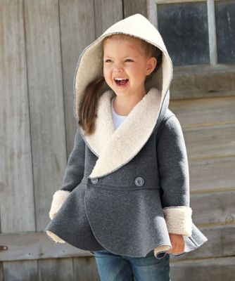 sherpa reversible jacket - Why pick a color when she can have two?