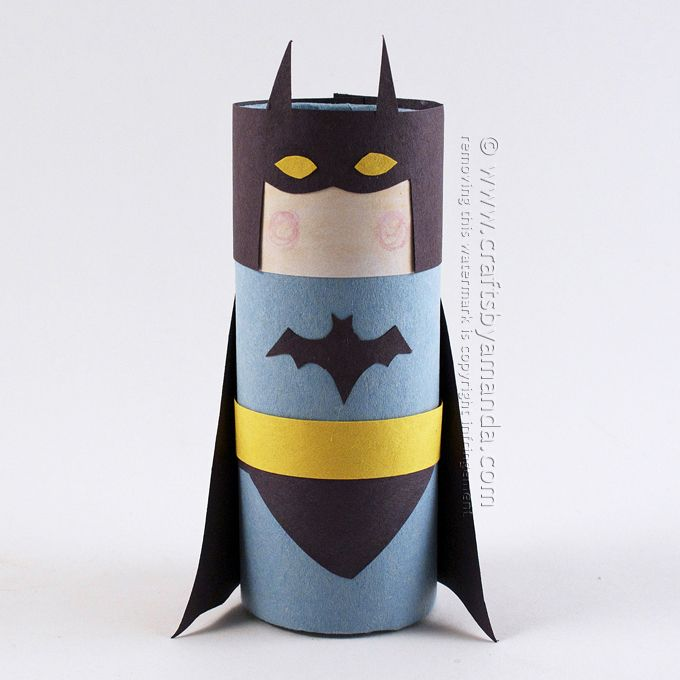 1000 ideas about batman crafts on pinterest pencil for Where to buy cardboard tubes for craft