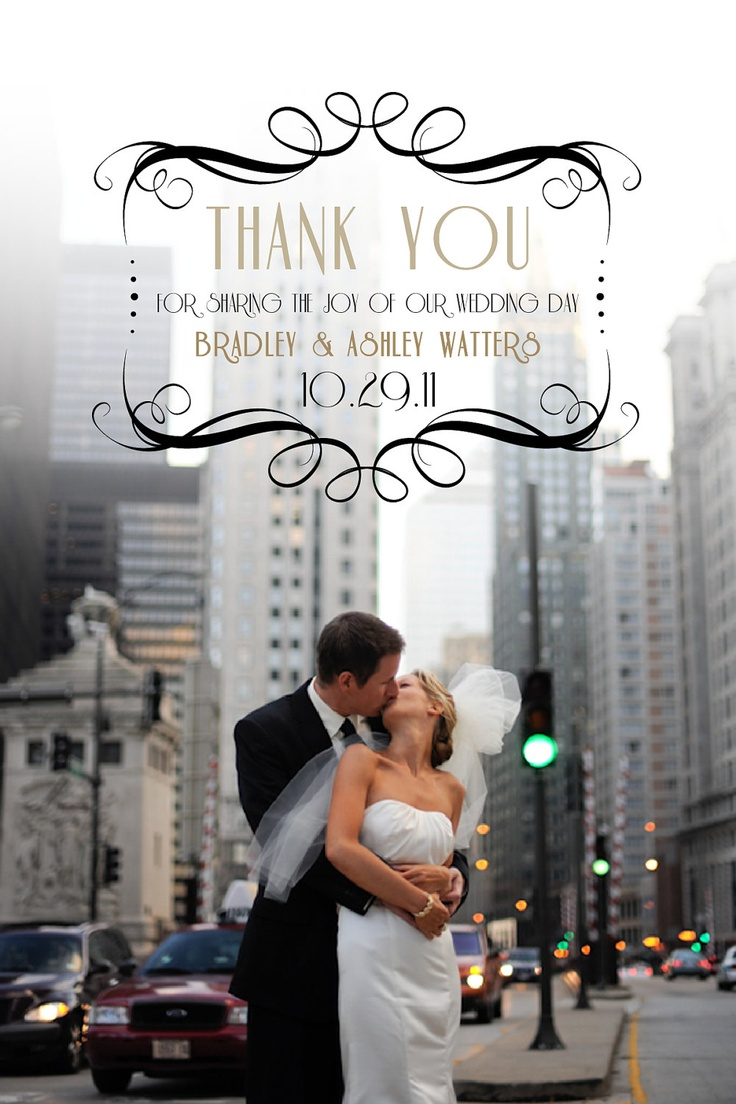 how to write thank you notes for wedding gift cards%0A Wedding Thank You Photo Card