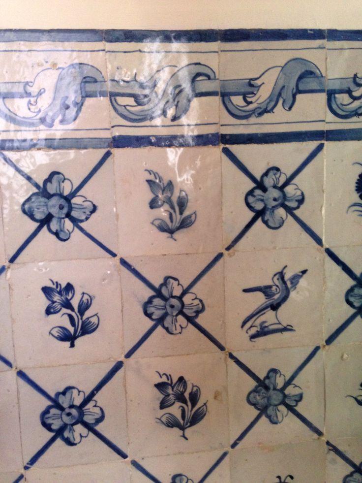 Azulejos, Lisboa. From the Museu de Artes decorativas.