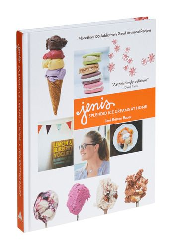 book for mom and her new ice cream maker: Help Tips, Cities Cayenne, Jeni Splendid, Salty Caramel, Signature Recipes, Splendid Ice, Cookbook Includ, Ice Cream, Icecream
