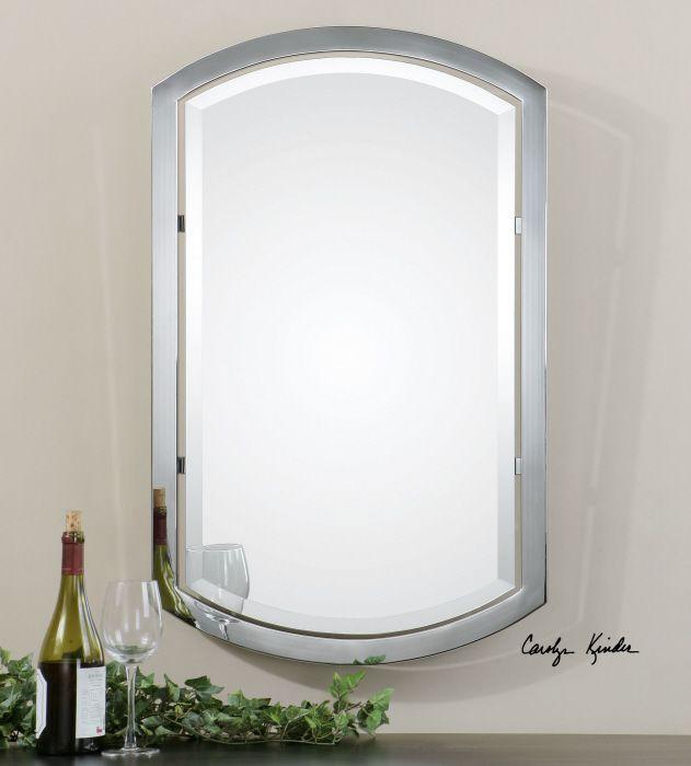 Jacklyn Awesome Mirror From Uttermost Com Framed Mirrorsvanity Mirrorsbathroom