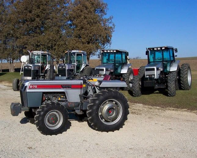 195 White Tractor : White farm equipment t tractor