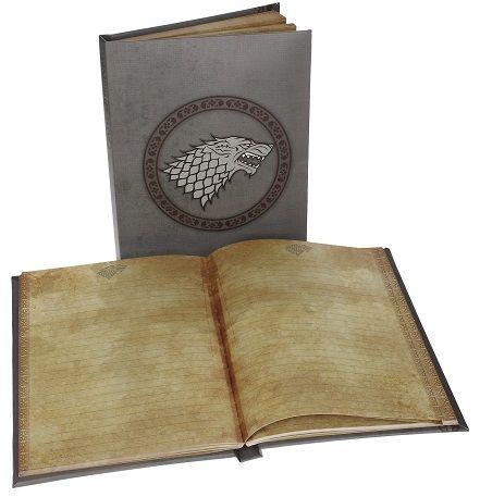 Notebook con stemma luminoso Stark possibilità di cambiare la batteria euro 17,90