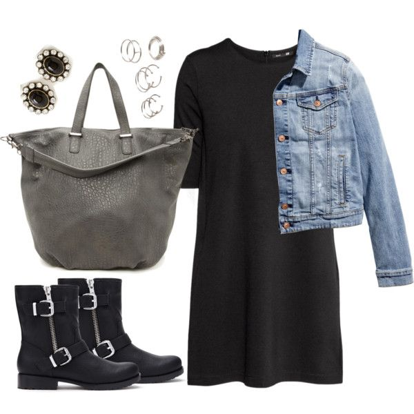 Edgy Hanna Marin inspired outfit by liarsstyle on Polyvore featuring H&M, Forever 21, school, college and mid