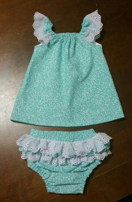Tadah Seaside Top and Ruffle Bum Nappy Cover