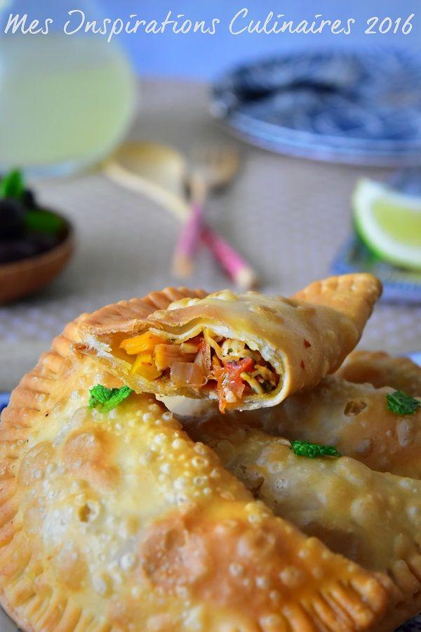 Recette Empanadas au poulet et poivron