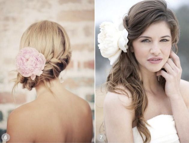 This site has 50 wedding hair styles with Flowers...I'm pinning the ones