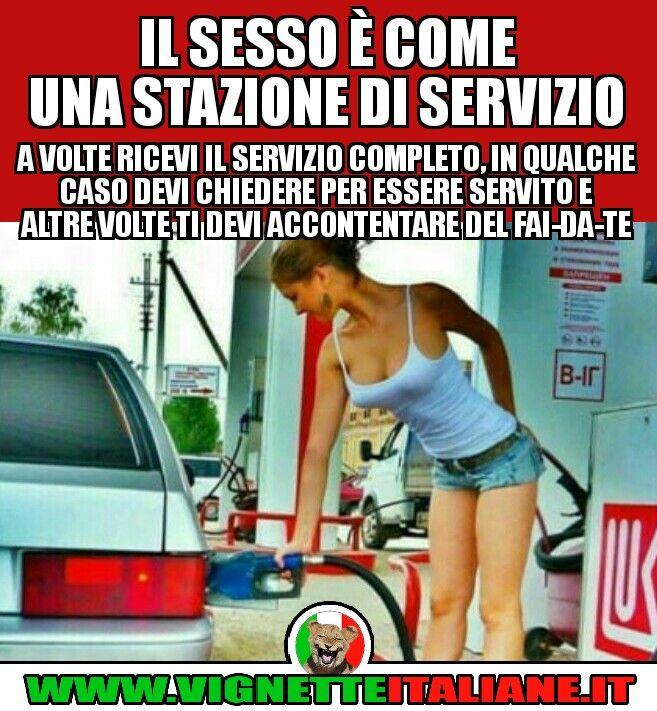 Il sesso è come una stazione di servizio :D (www.VignetteItaliane.it)