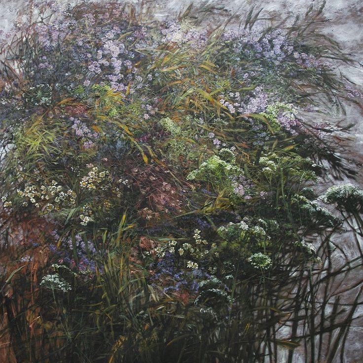 claire basler-法國大型花卉藝術家-克萊爾·巴斯勒的家.工作室.和藝術.日常生活成為一部分藝術家的家園系列(二)。。。 - milk  - ☆ Milk ☆ 平平。淡淡。也是真。