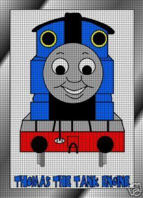 Thomas The Tank Engine Crochet Pattern