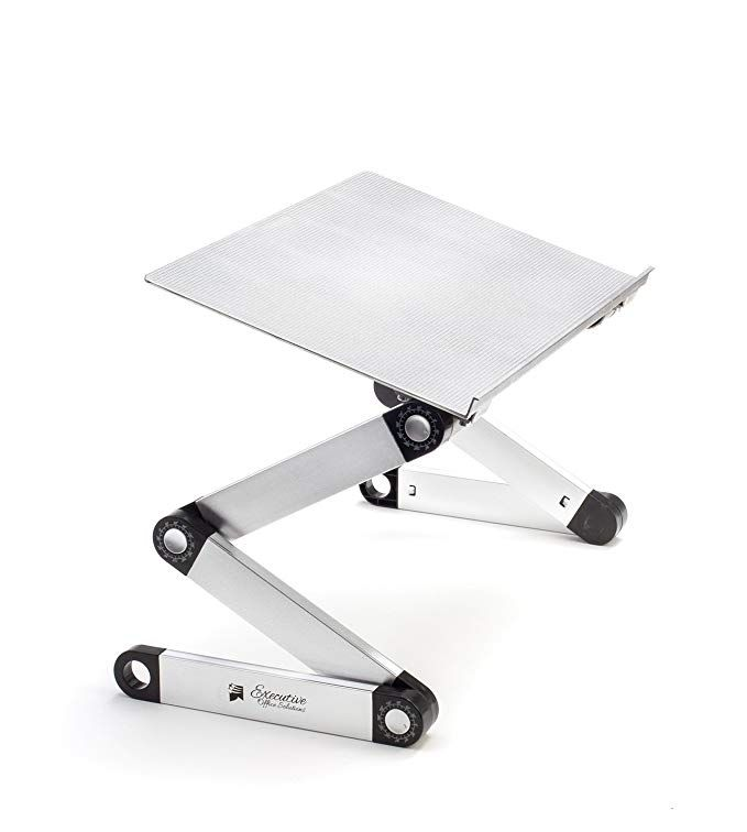 Portable Adjustable Aluminum Laptop Stand Desk Table Notebook