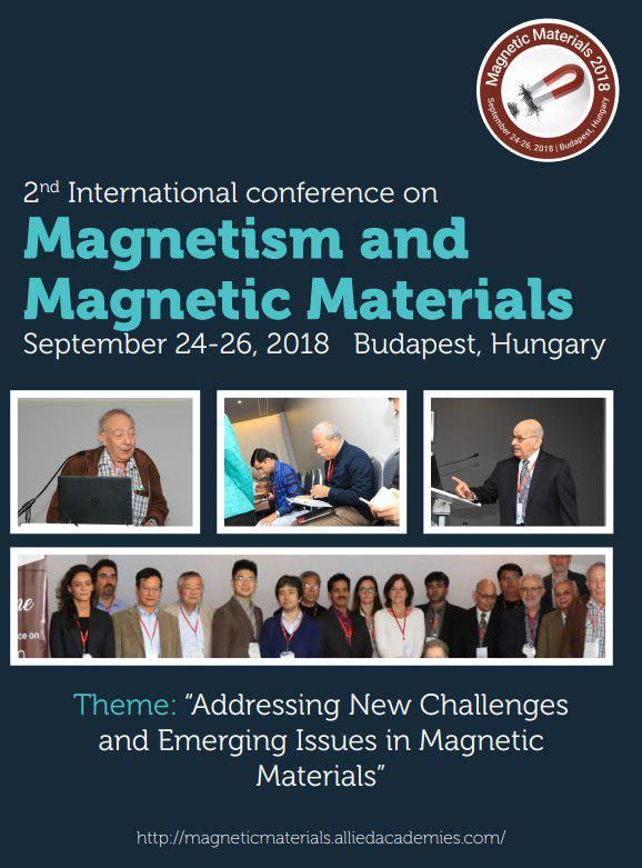 2nd International Conference On Magnetism And Magnetic Materials