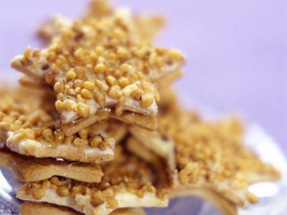 Krokant-Plätzchen ist ein Rezept mit frischen Zutaten aus der Kategorie Plätzchen. Probieren Sie dieses und weitere Rezepte von EAT SMARTER!