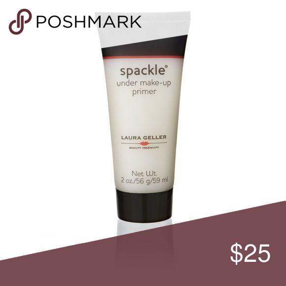 NEW‼️Laura Geller SPACKLE UNDER MAKE-UP PRIMER SPACKLE UNDER MAKE-UP PRIMER Laura Geller NEW??QVC Award Winner Revive your skin with Spackle Under Make-Up Primer, which retexturizes the surface of your skin to achieve a flawlessly smooth finish. Spackle made with natural plant extracts and the powerful anti-oxidants, White Tea and Centella Asiatica Extracts. These ingredients protect the skin along with Aloe Vera helps the skin retain moisture, feel softer and look smoother. It is lush…