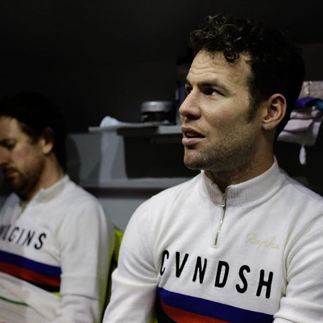 Mark Cavendish & Bradley Wiggins Six Days Gent 2016