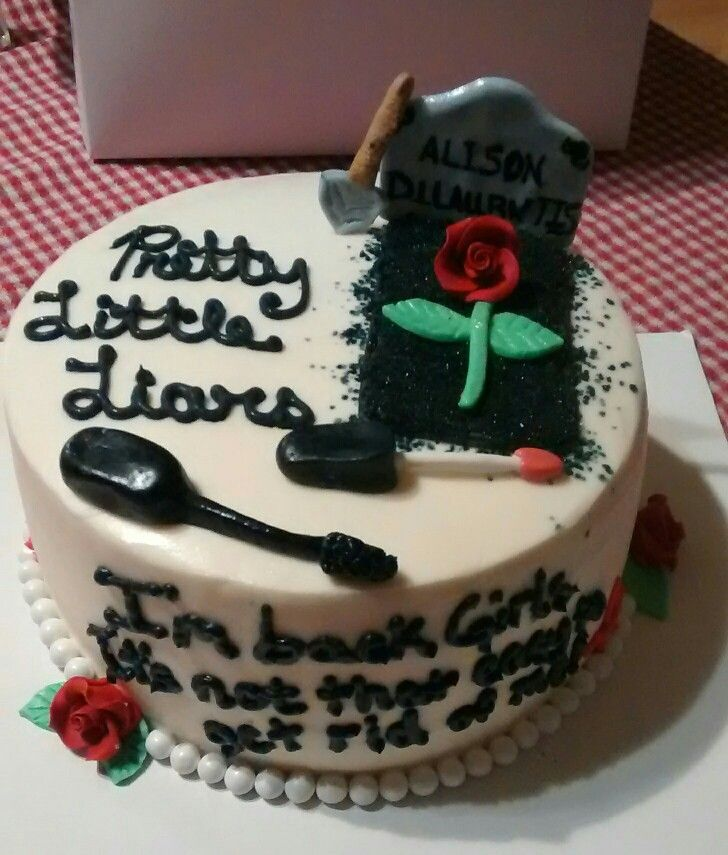 Pretty little liars cake Happy Birthday Sophia
