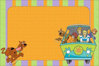 Imprimibles de Scooby Doo.