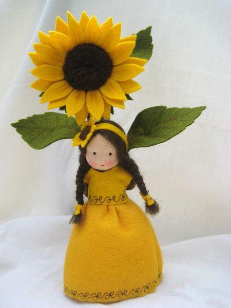 Sonnenblume Blumenkinder-Unikate