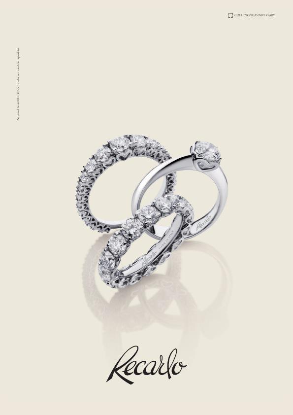 Collezione ANNIVERSARY oro 18kt diamanti