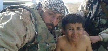 11 Year Old ISIS Fighter Captured by Syrian Army Special Forces - AhlulBayt News Agency - ABNA - Shia News