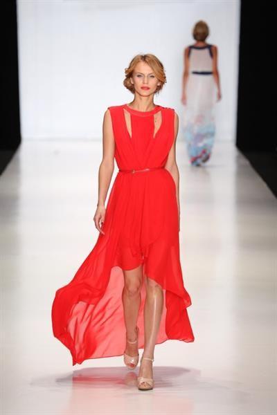 Зарина красное платье