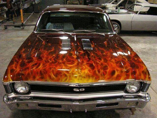 Pin By Charles Pressley On Nova S Chevy Nova Chevy Muscle Cars