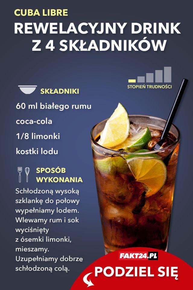 Przepis na drink z rumem.