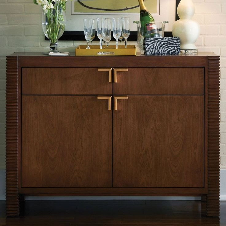 Somerton Well Mannered Walnut Accent Chest | Weekends Only Furniture and Mattress