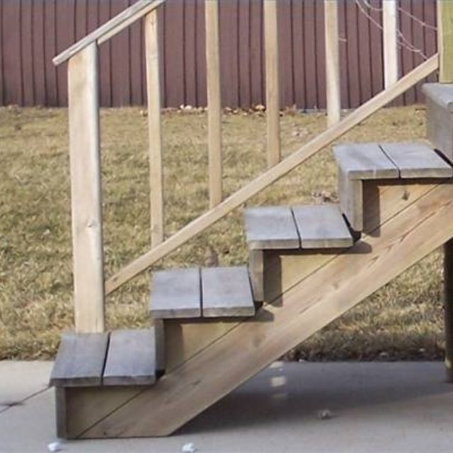 Making Wooden Steps